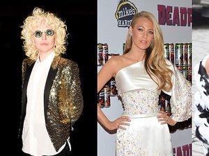 Brzydkie stylizacje Tilda Swinton, Lady Gada, Blake Lively, Kim Kardashian