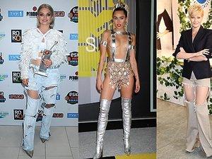 Margaret, Miley Cyrus, Małgorzata Kożuchowska, Lady Gaga, Natalia Nykiel w najgorszych stylizacjach roku