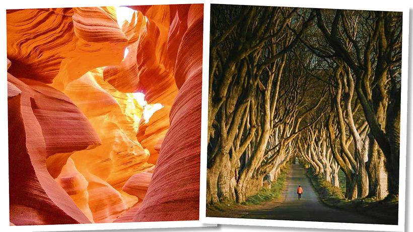 15 magicznych miejsc na ziemi, które warto odwiedzić przynajmniej raz w życiu.