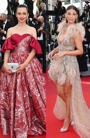 74 Festiwal Filmowy w Cannes 2021 czerwony dywan kreacje gwiazdy suknie