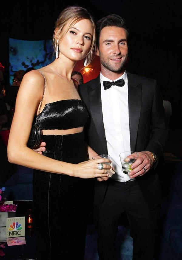 Adam Levine i Behati Prinsloo domy gwiazd Los Angeles