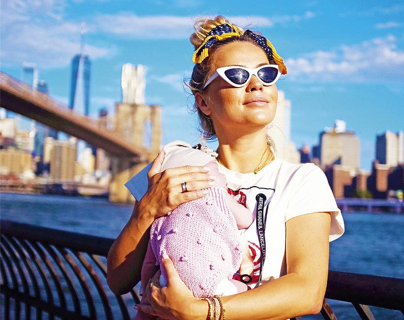Anna Skura What Anna Wears o macierzyństwie - podróżowanie w ciąży i z dzieckiem