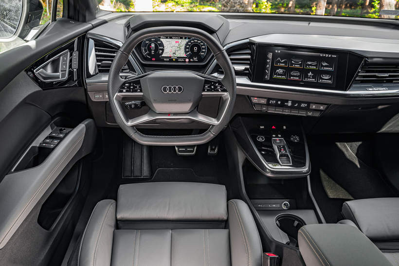 Audi Q4 e-tron na Viva.pl 4