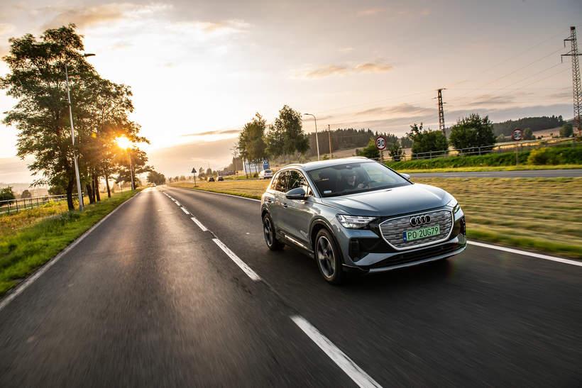 Audi Q4 e-tron na Viva.pl 5