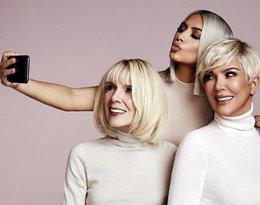 83-letnia babcia Kim Kardashian twarzą nowej linii kosmetyków!