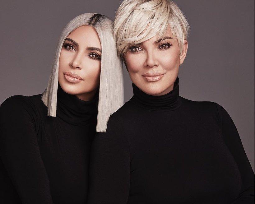 Babcia Kim Kardashian w kampanii najnowszych kosmetyków marki KKW Beauty