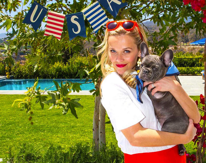 Baseny gwiazd - basen Reese Witherspoon