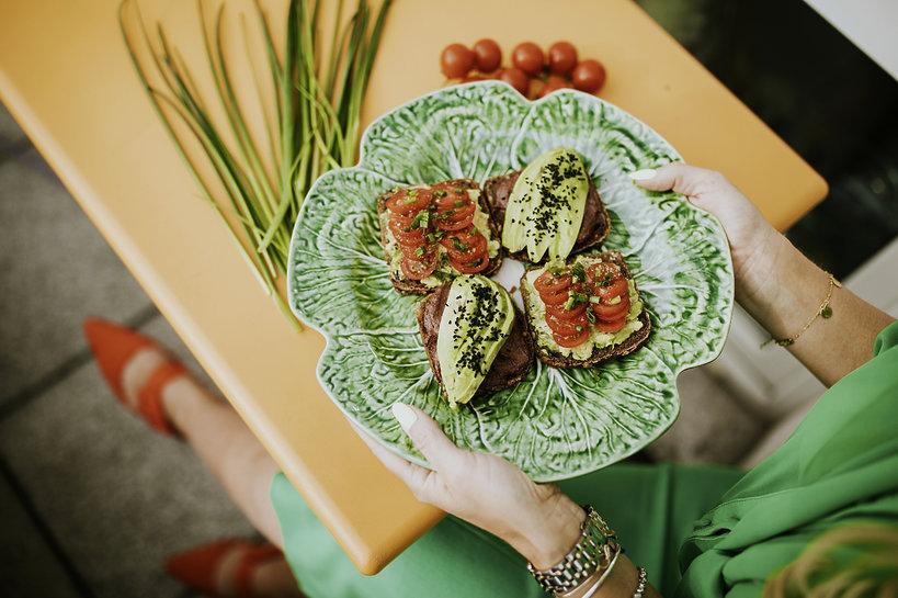 Bezglutenowe kanapki z awokado - przepis Ewy Szabatin