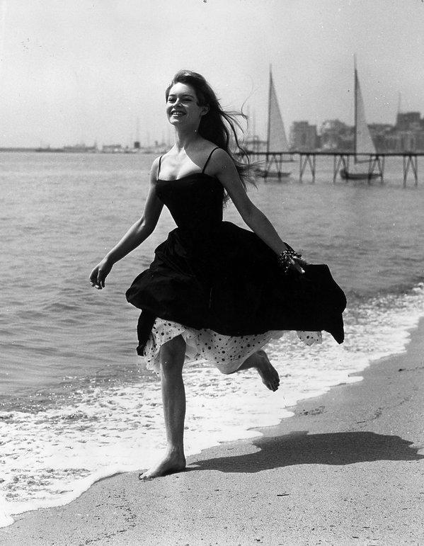 Brigitte Bardot w Cannes