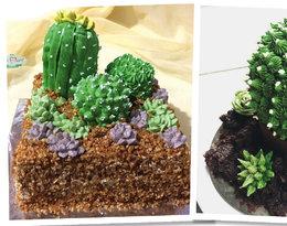 Efektowne i pyszne #CactusCakes!