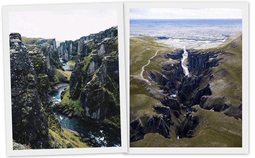 Canyon Fjaðrárgljúfur, Iceland