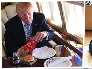 Co je Donald Trump? McDonald, KFC, pizza