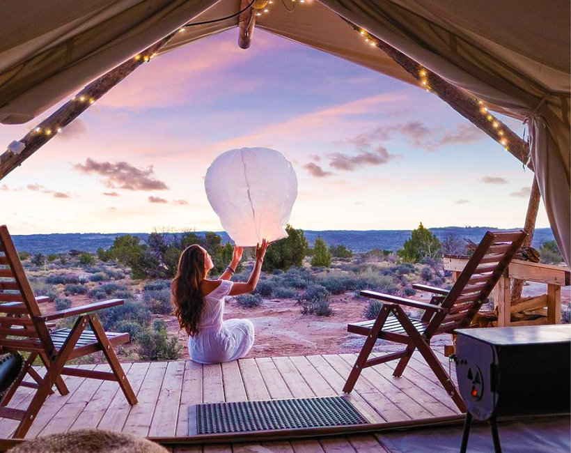 Co to jest glamping?