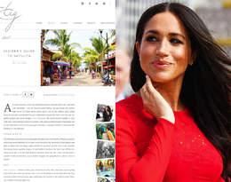 Czy księżna Meghan wróci do blogowania? The Tig był hitem sieci…