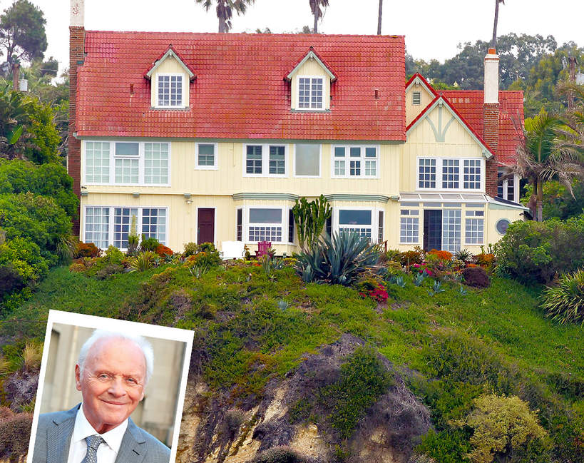 Dom Anthony'ego Hopkinsa wystawiony na sprzedaż