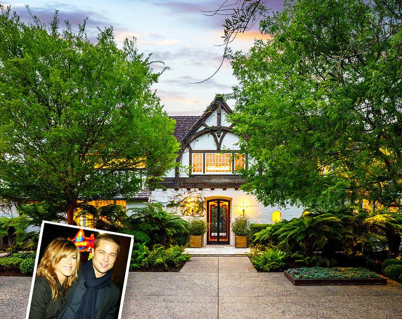 Dom Jennifer Aniston i Brada Pitta na sprzedaż