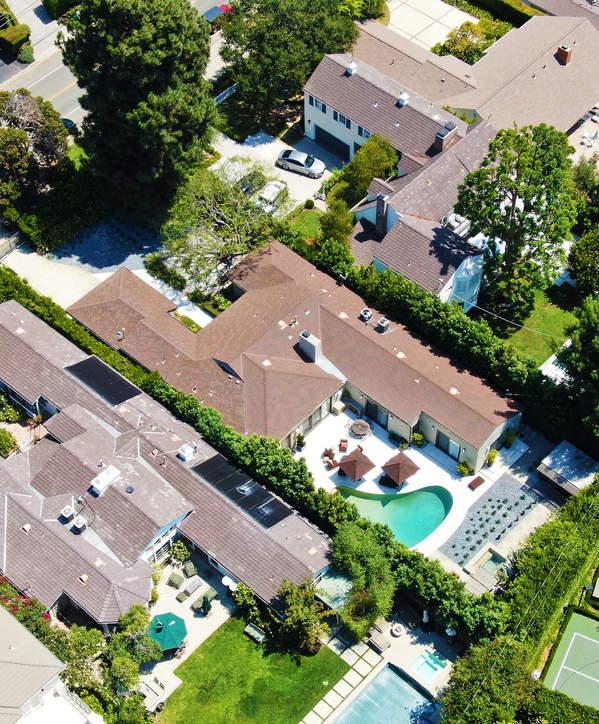 dom Joe Bidena i Kamali Harris posiadlosc luksusowa prywatna