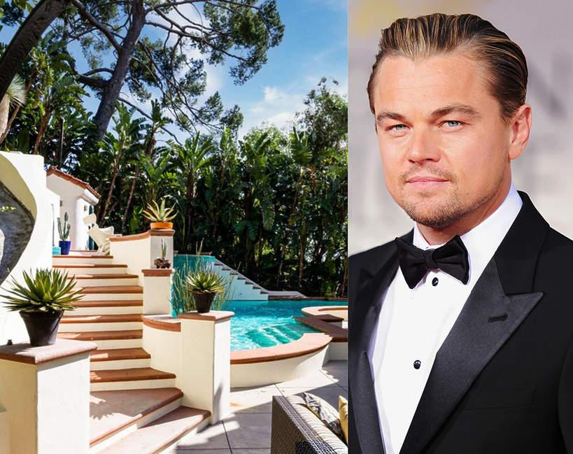 dom Leonardo DiCaprio kupil nowy dom w kalifornii willa nieruchomosc gwiazdora elegancka posiadlosc