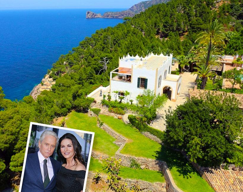Dom Michaeal Douglasa i Catherine Zety-Jones na Bermudach - idealne wakacje w luksusowej posiadłości