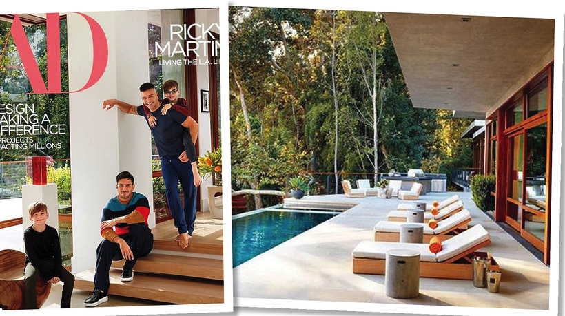 Dom Ricky'ego Martina i Jwana Yosefa w Los Angeles