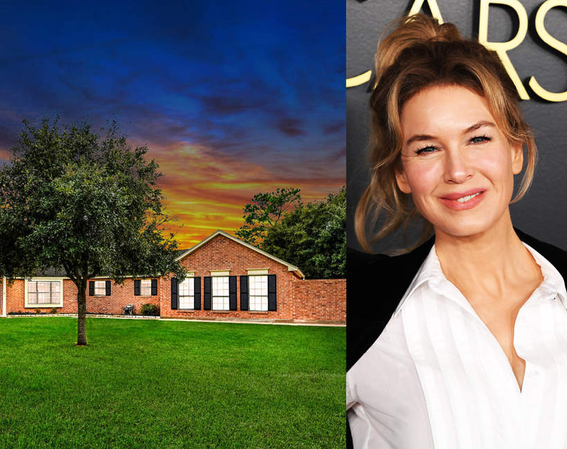 Dom z dzieciństwa Renée Zellweger  na sprzedaż