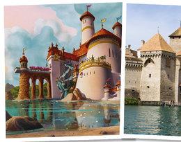 Jak z baśni! Oto niesamowite miejsca, które zainspirowały bajki Disneya!