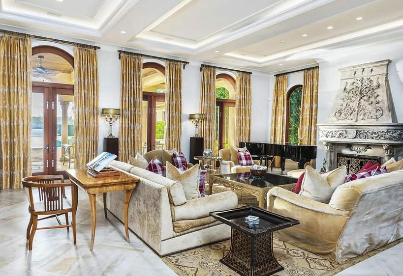 Domy słynnych kobiet wnetrza rezydencji