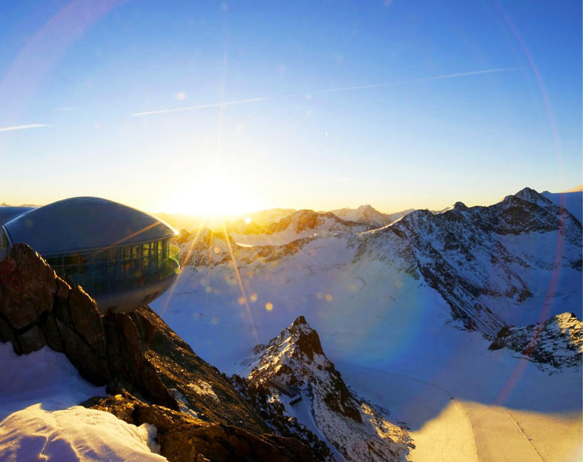Ferie 2020 - narty na lodowcu