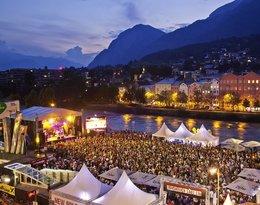 Festiwal nad rzeką Inn