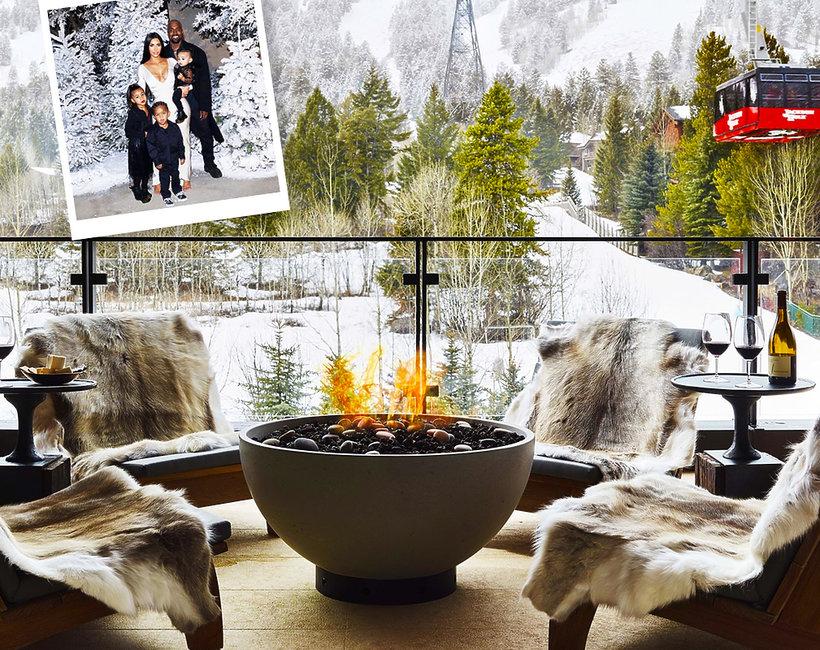 Gdzie klan Kardashianów spędził urlop?