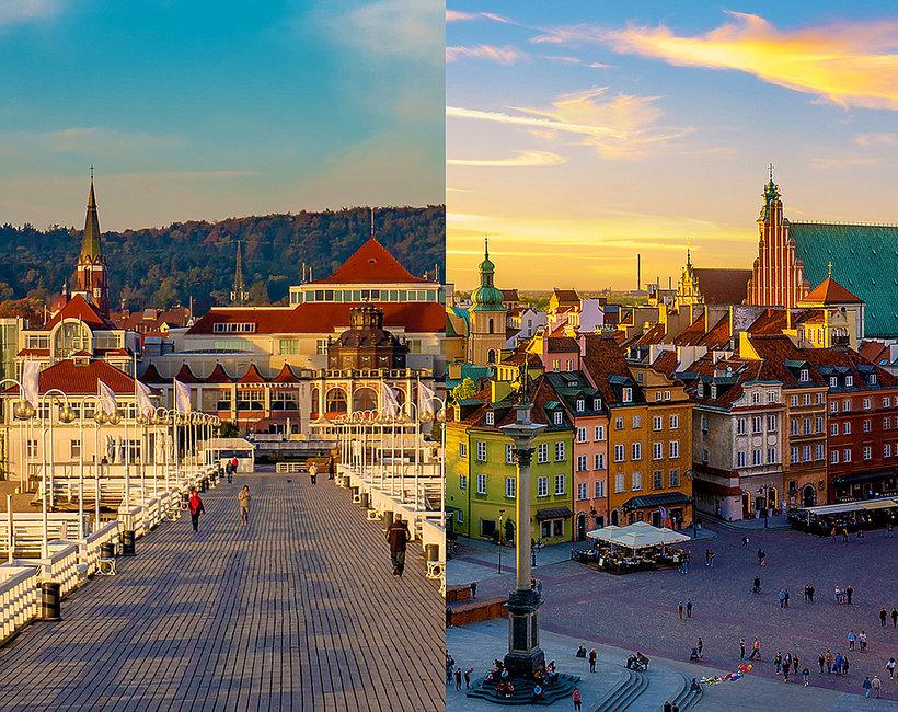 Gdzie wybrać się na majówkę? Warszawa, Kraków, Sopot, Wrocław