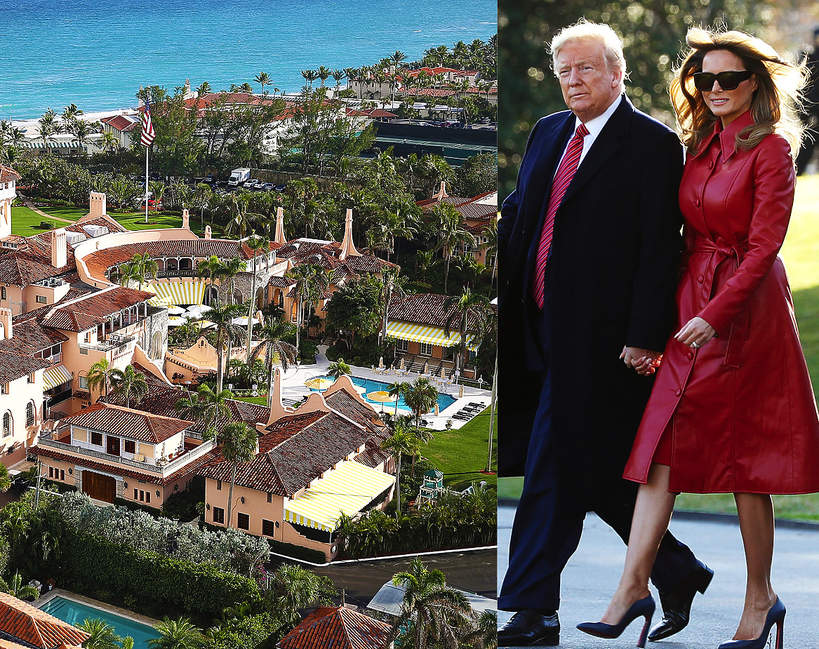 gdzie zamieszka donald trump po zakonczonej prezydenturze razem z melania trump w mar a lago czy trump tower 1
