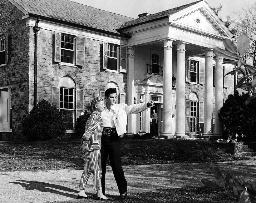 Graceland - posiadłość, dom Elvisa Presleya