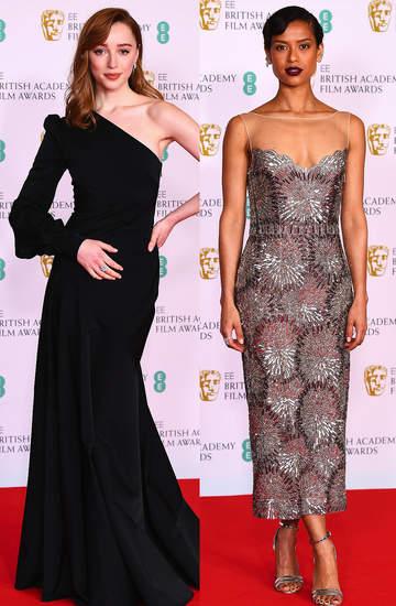 Gwiazdy na gali BAFTA 2021styl stylizacje