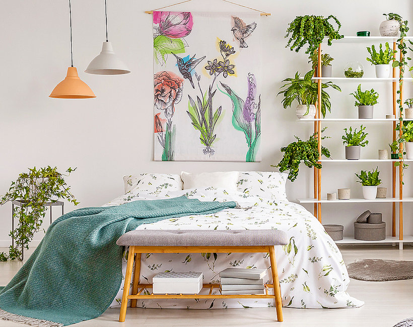 Jak urządzić mieszkanie w stylu jungalow?