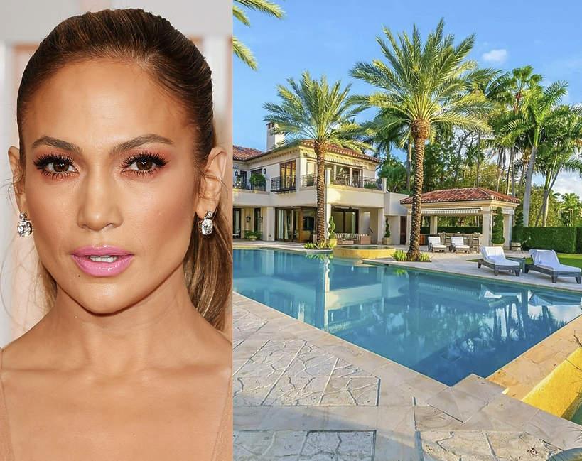 Jak wygladaja domy slynnych kobiet Jennifer Lopez