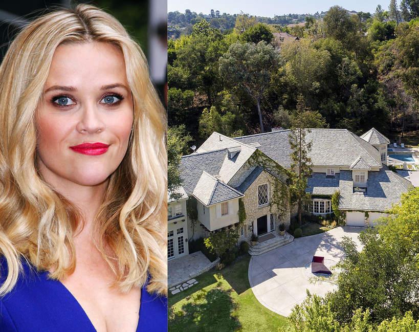 Jak wygladaja domy slynnych kobiet Reese Witherspoon