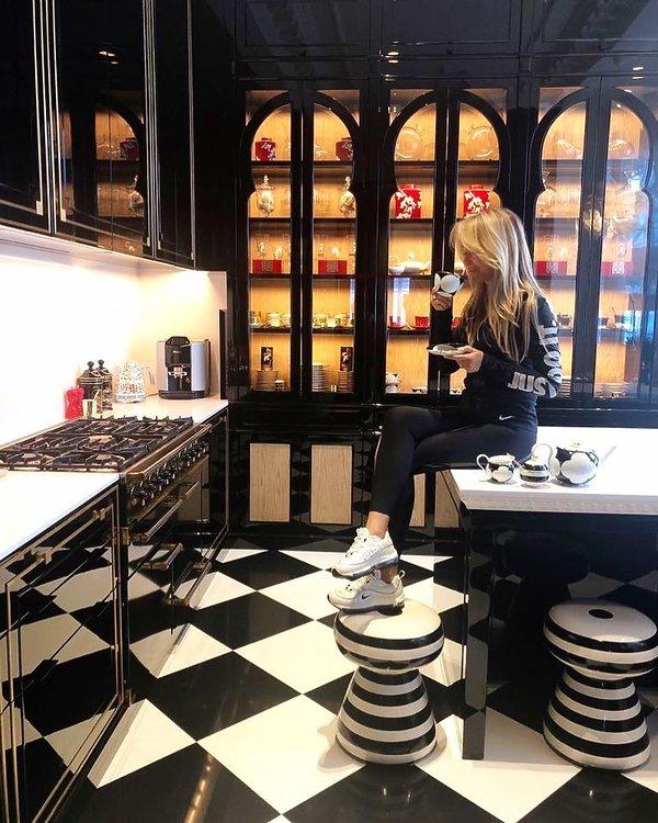 Joanna Przetakiewicz pokazała swoją kuchnię w Londynie