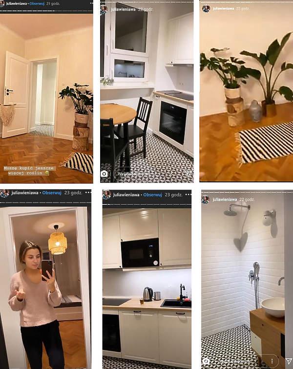 Julia Wieniawa kupiła nowe mieszkanie