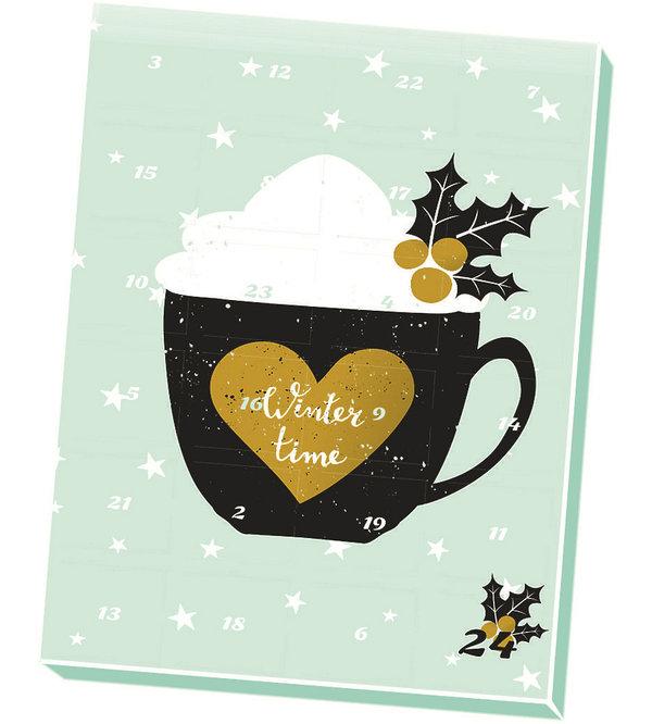 Kalendarz adwentowy z kawą, herbatą, prossecco, bez glutenu i...