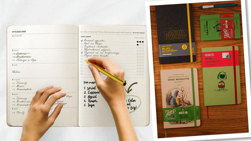 Kalendarz na 2018 rok: Moleskine, Leuchtturm1917, Simple Calendar, Minimal Calendar