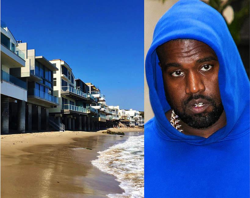 Kanye West nowy dom w malibu 1