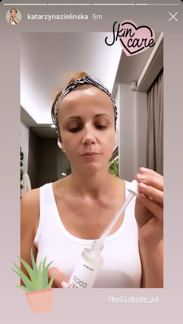 Katarzyna Zielińska pokazała łazienkę