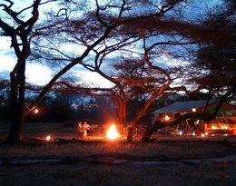 Kenia: obóz myśliwych
