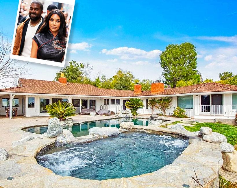 Kim Kardashian i Kanye West kupili nowy dom w Hidden Hills