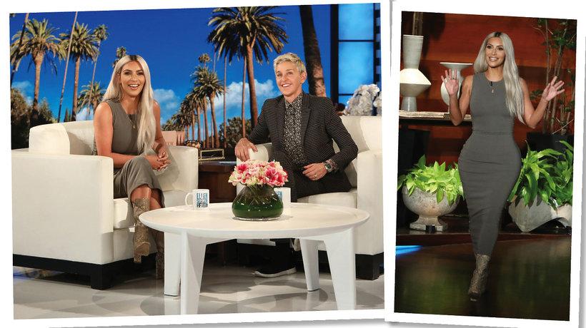 Kim Kardashian w show Ellen Degeneres ogłosiła, że spodziewa  się córki