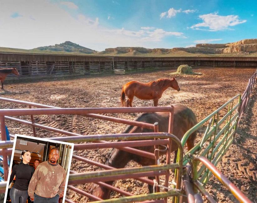 Kim Kardashian West i Kanye West kupili ranczo w Wyoming za 14 milionów dolarów