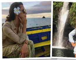 Kinga Rusin na rajskich wakacjach- zdjęcia z Samoa