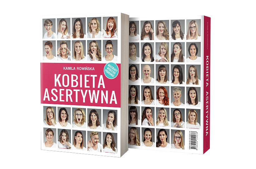 Kobieta asertywna książka Kamila Rowińska