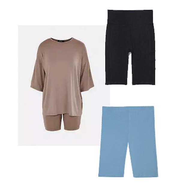 kolarki-krotkie-legginsy-jak-nosic-gdzie-kupic-HM-missguided-hibou-kasia-tusk